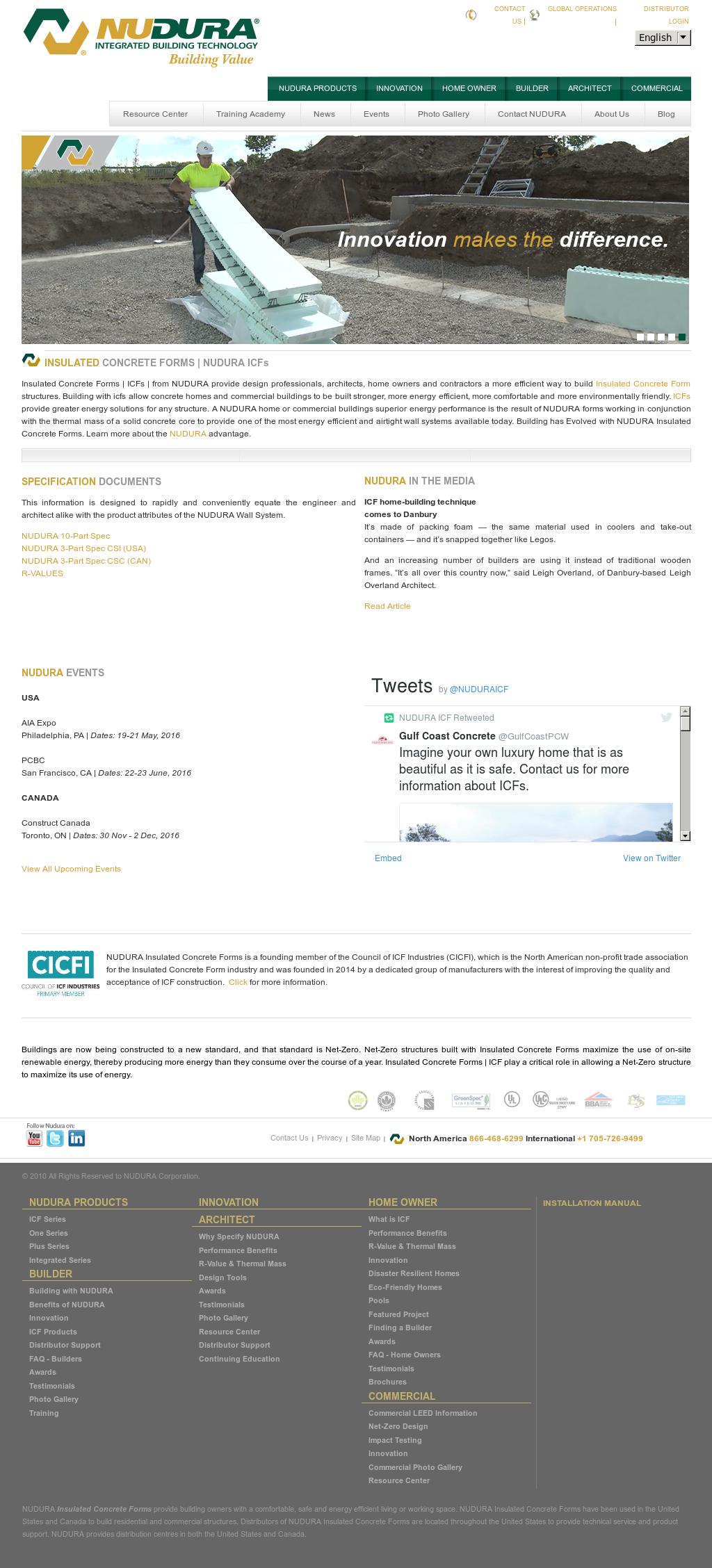 Owler Reports - Press Release: NUDURA ICF : /R E P E A T