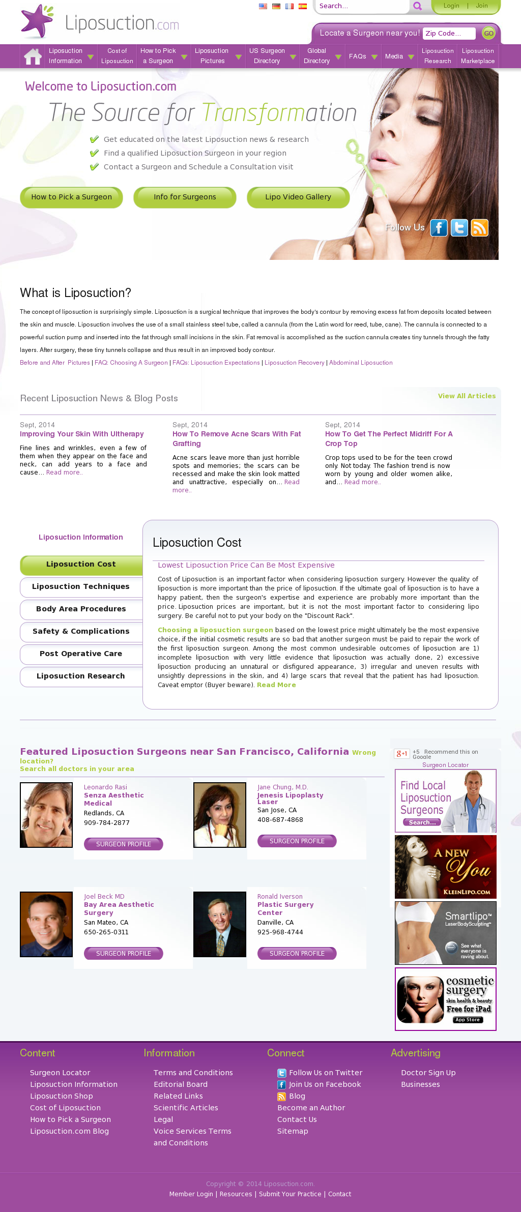 Liposuction Competitors, Revenue and Employees - Owler Company Profile