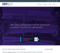 Reputation Capital website history