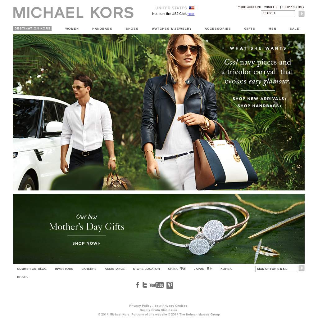98820be9ca Michael Kors Competitors