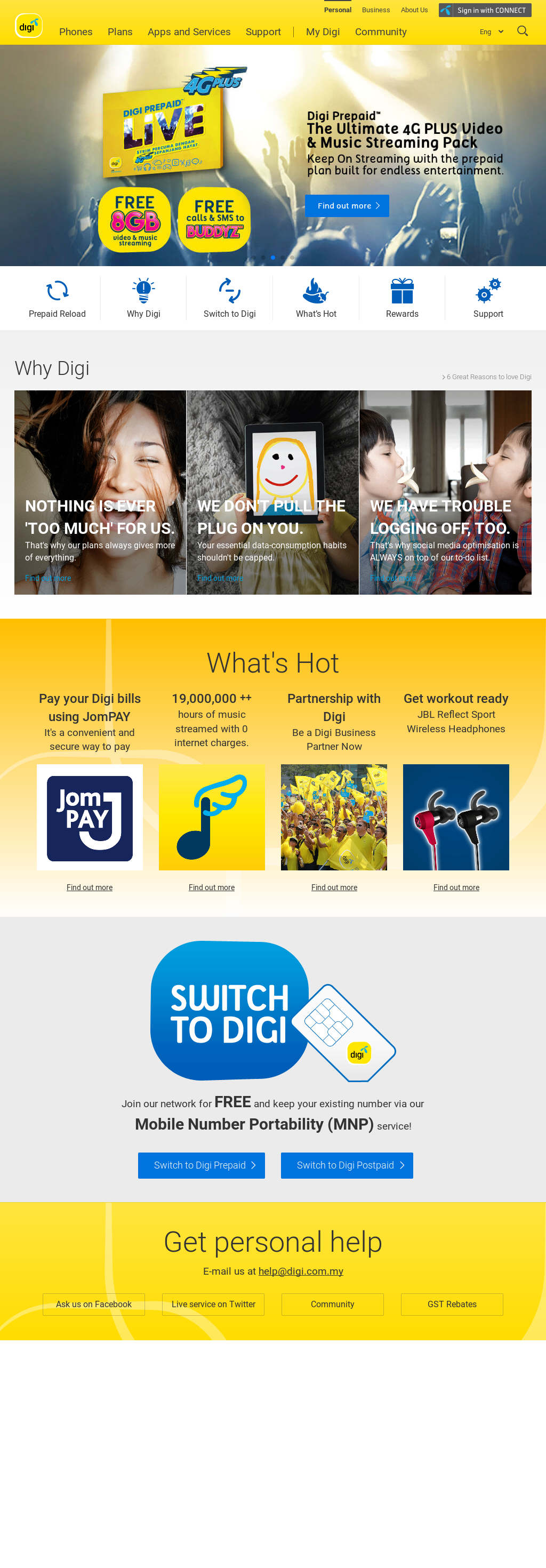 DiGi Competitors, Revenue and Employees - Owler Company Profile