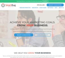 SmartBug Media website history
