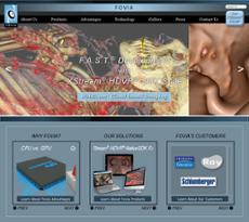 Fovia website history