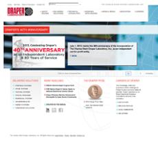 Draper website history