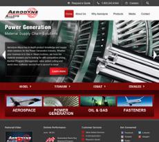Aerodyne Alloys website history