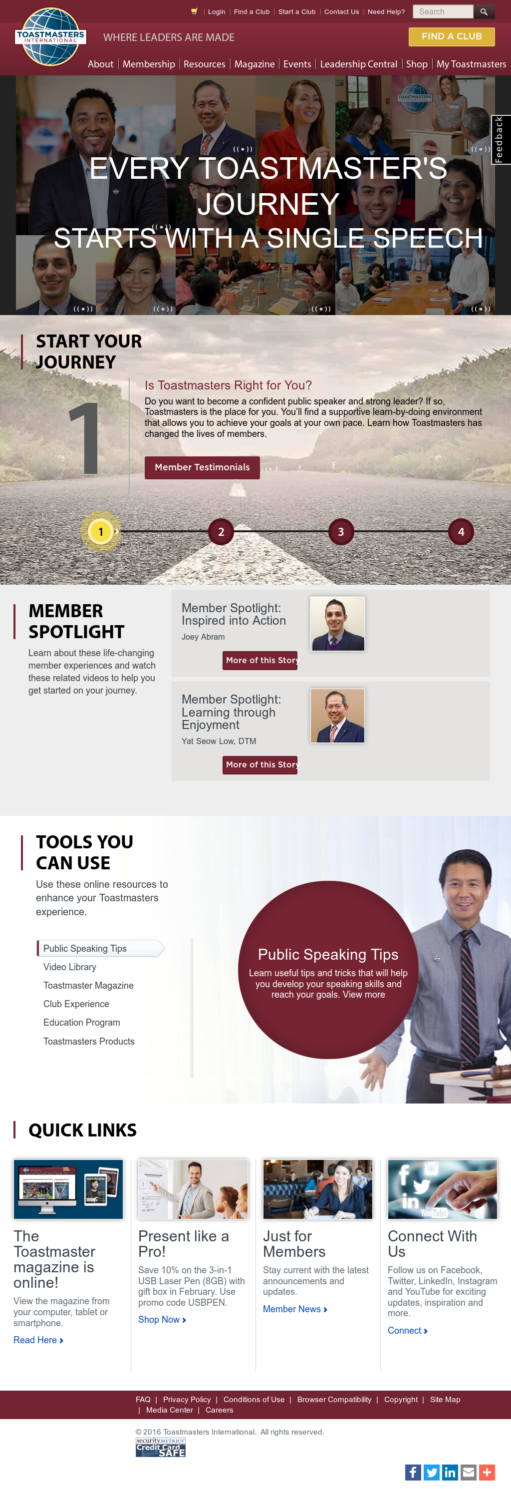 Toastmasters Competitors, Revenue and Employees - Owler Company Profile