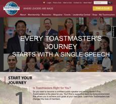 Toastmasters website history