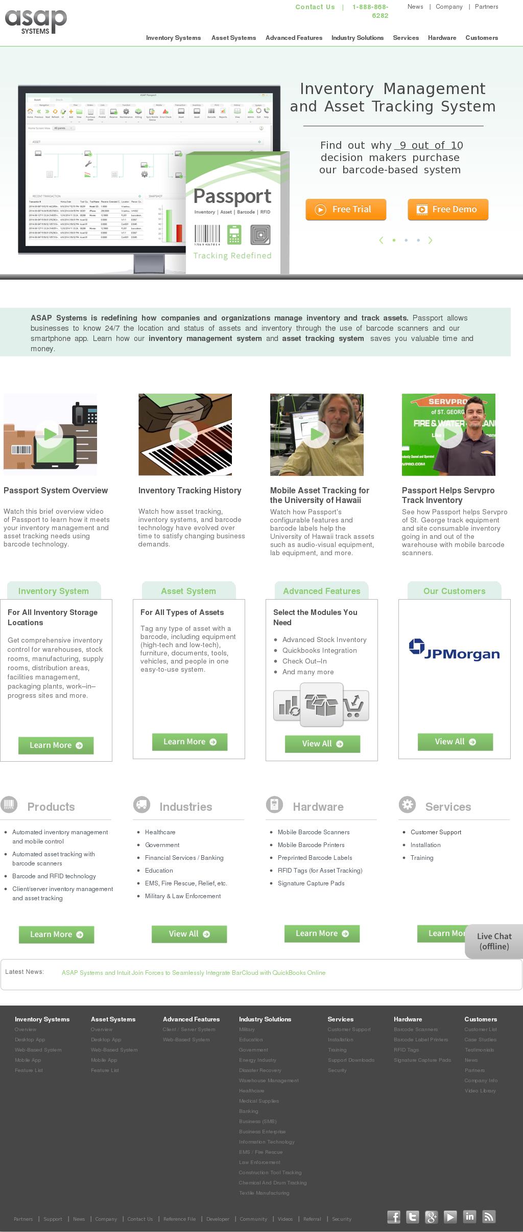 Barcode Scanner Website Integration