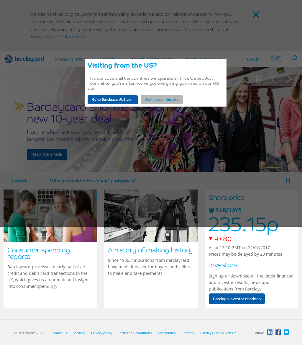 Barclaycard Competitors, Revenue and Employees - Owler