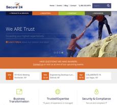 Secure-24 website history