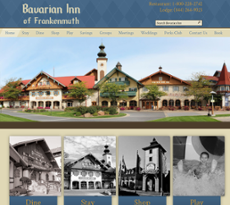 Bavarian Inn website history
