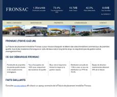 Fronsac website history