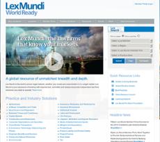 Lex Mundi website history
