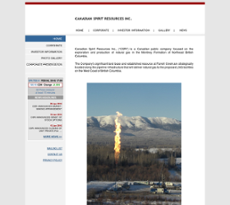 Canadian Spirit Resources website history