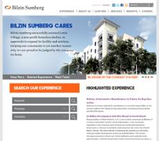 Bilzin Sumberg website history
