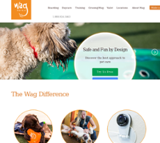 Wag Hotels website history