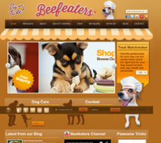 Beefeaters website history
