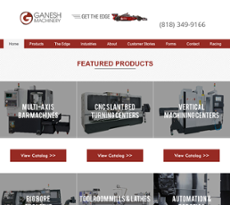 Ganesh Machinery website history