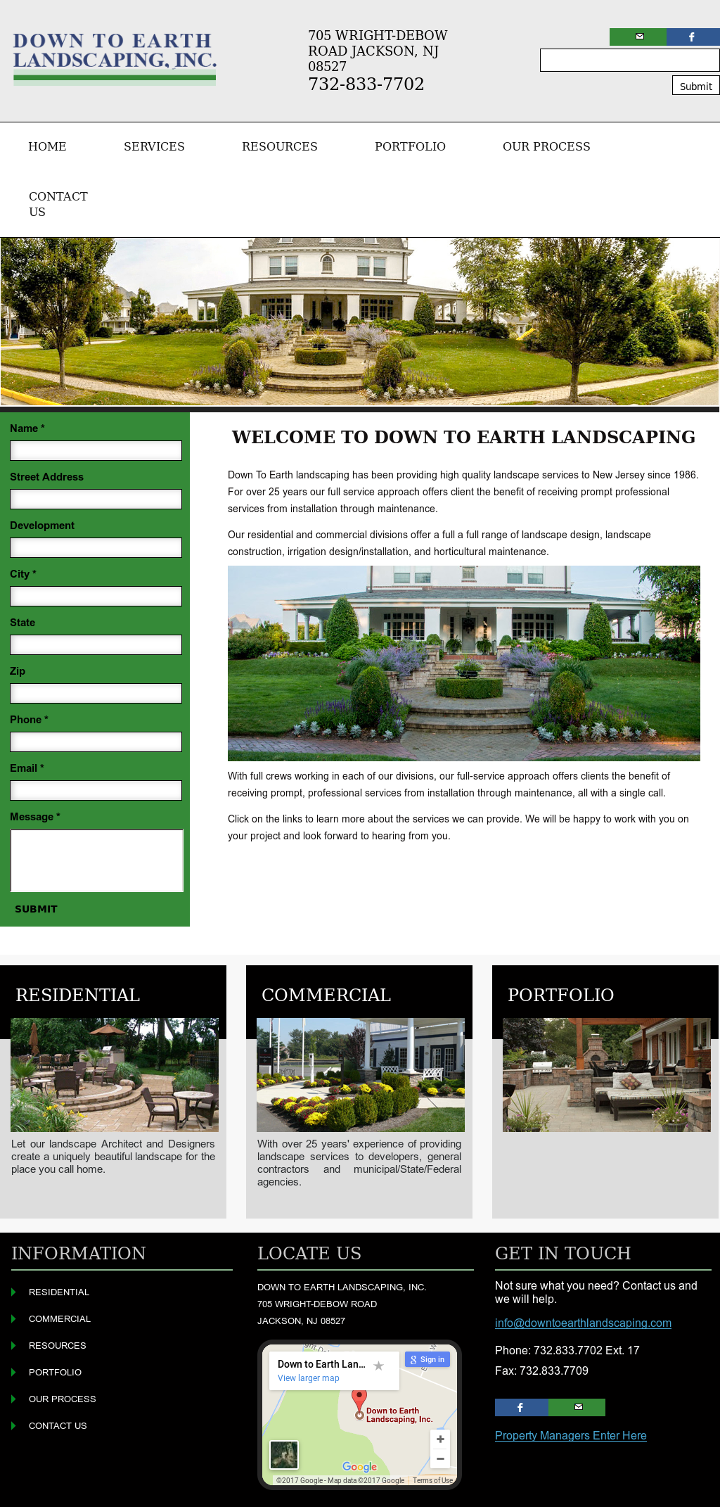 Down To Earth Landscaping Compeors Revenue And Employees