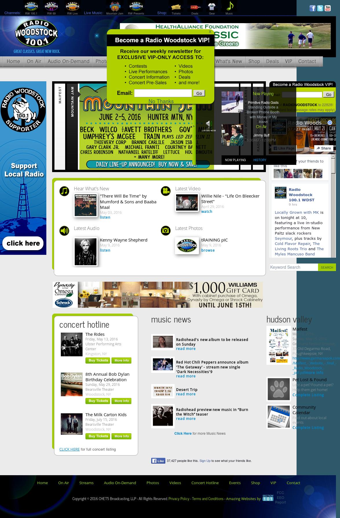 Radio Woodstock 100 1 Competitors, Revenue and Employees