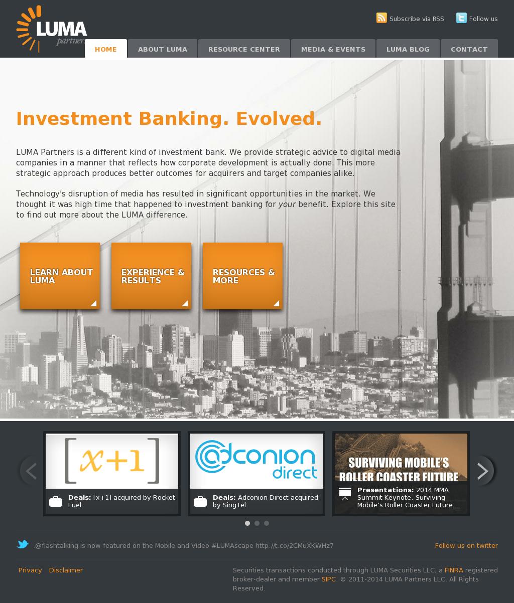 LUMA Partners Competitors, Revenue and Employees - Owler Company Profile