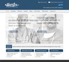 NaphCare website history