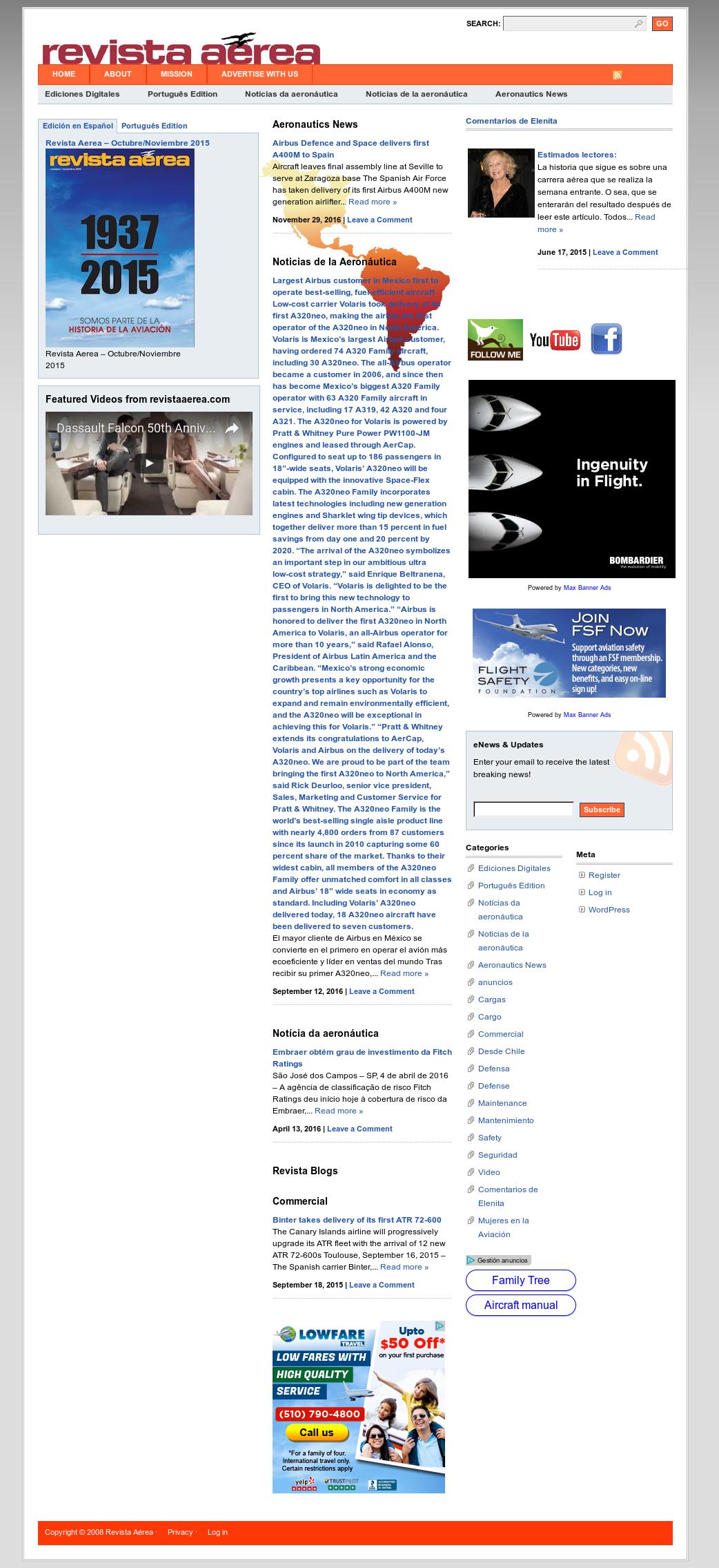 Revista Aerea Competitors, Revenue and Employees - Owler