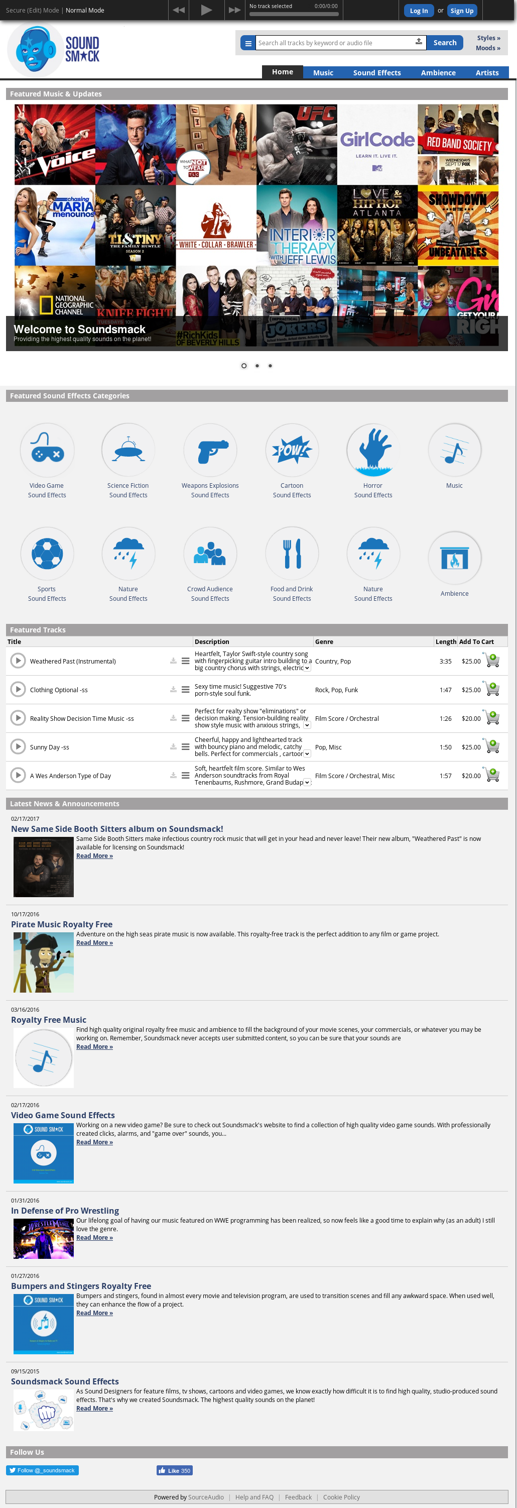 Soundsmack Competitors, Revenue and Employees - Owler Company Profile