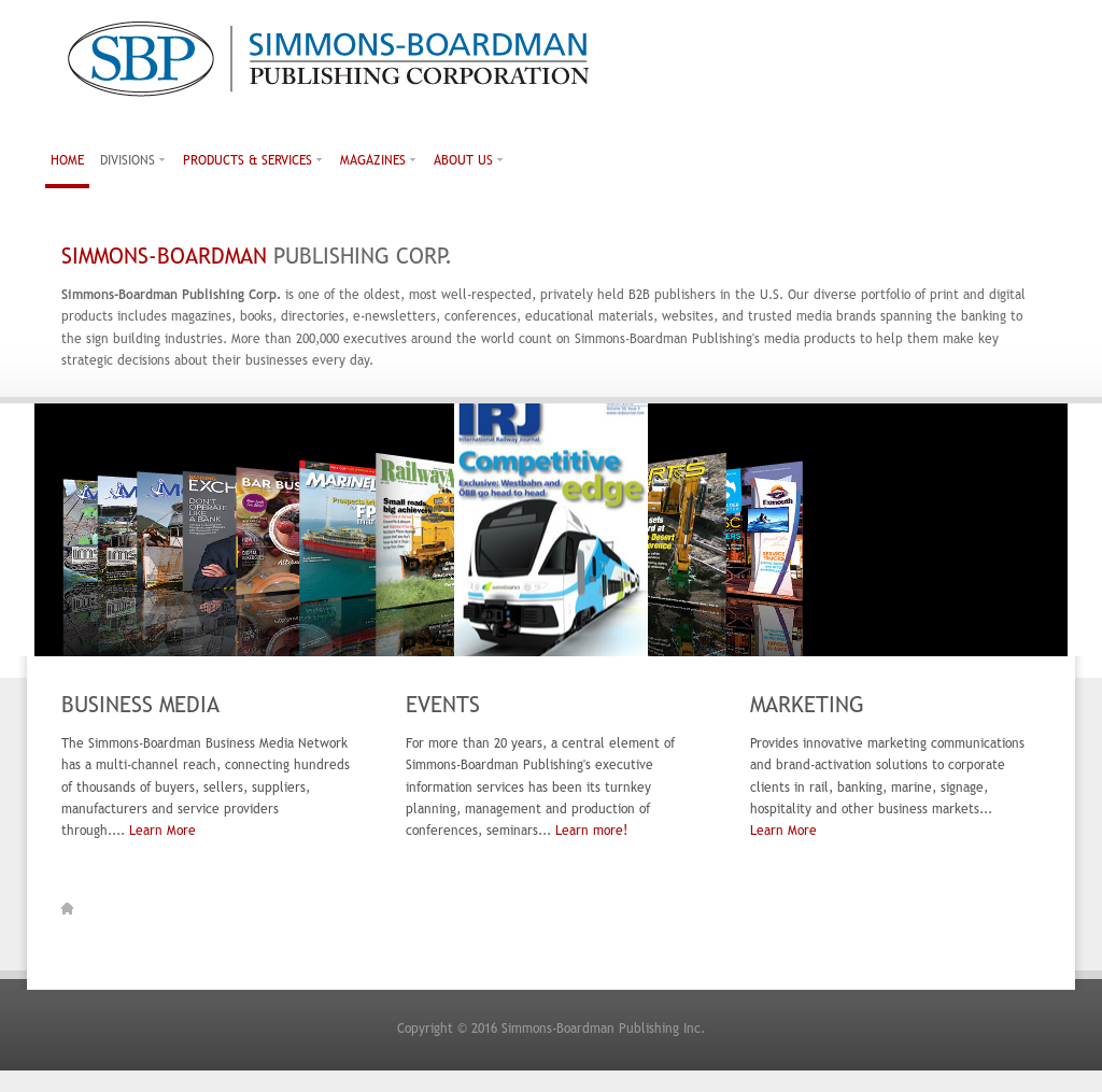 Simmons-Boardman Publishing Competitors, Revenue and