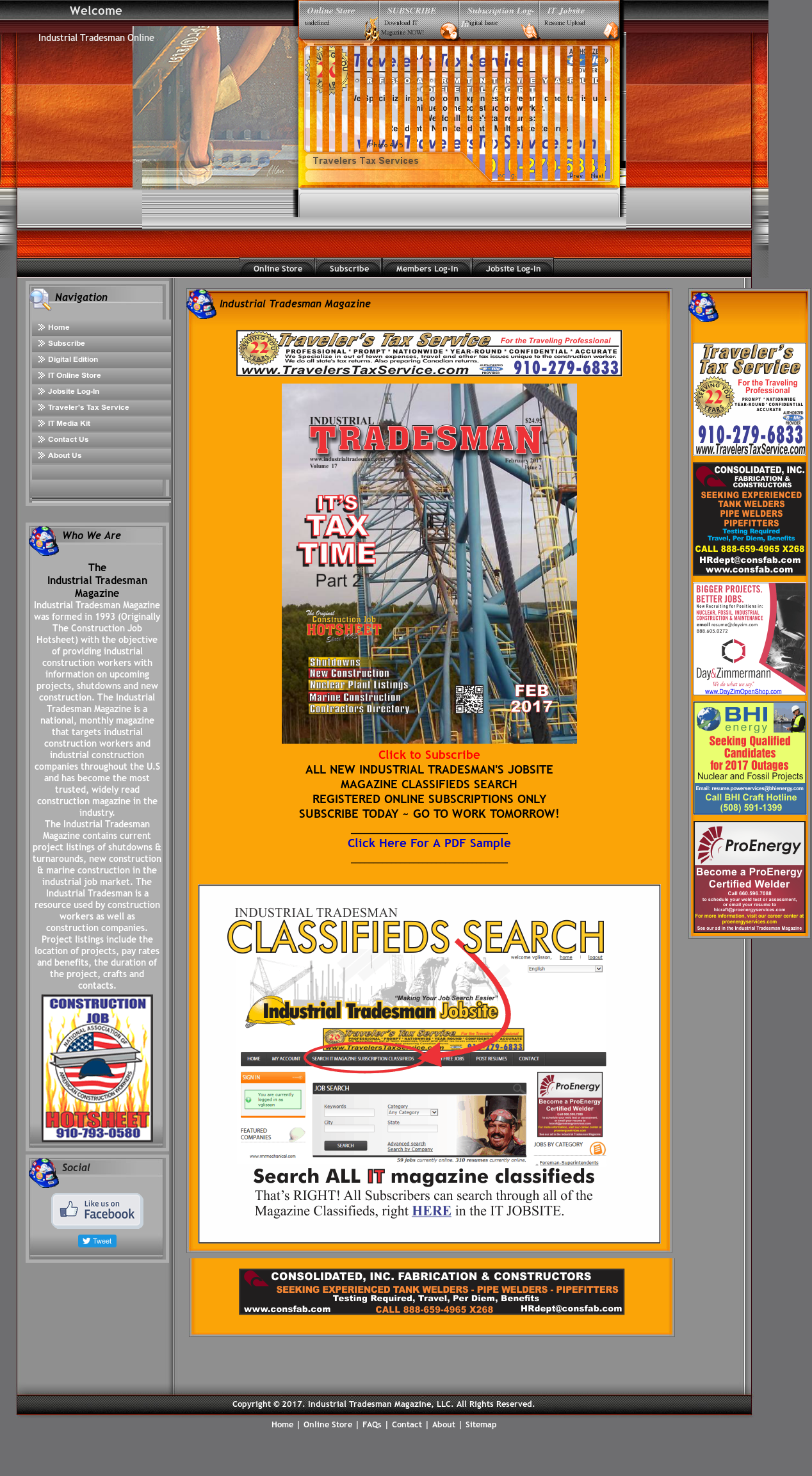 Industrial Tradesman Magazine Competitors, Revenue and Employees ...