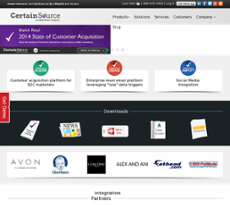 CertainSource website history