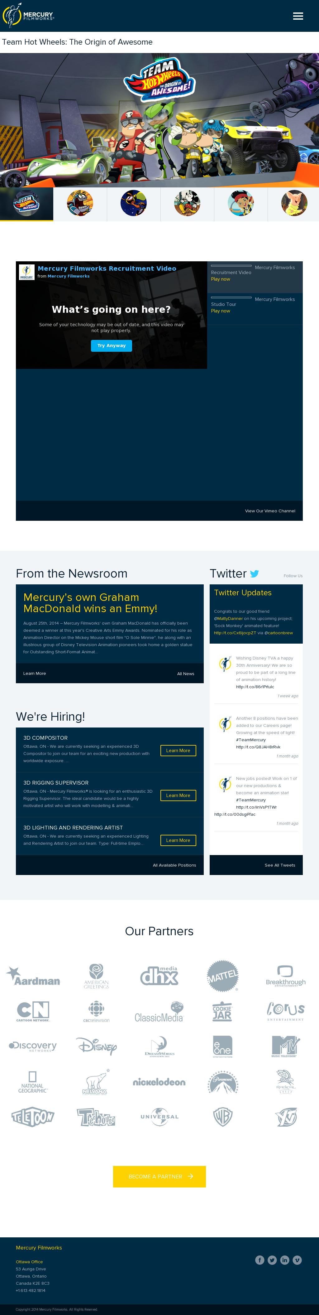 Mercury Filmworks Competitors, Revenue and Employees - Owler