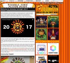 Double Fine website history