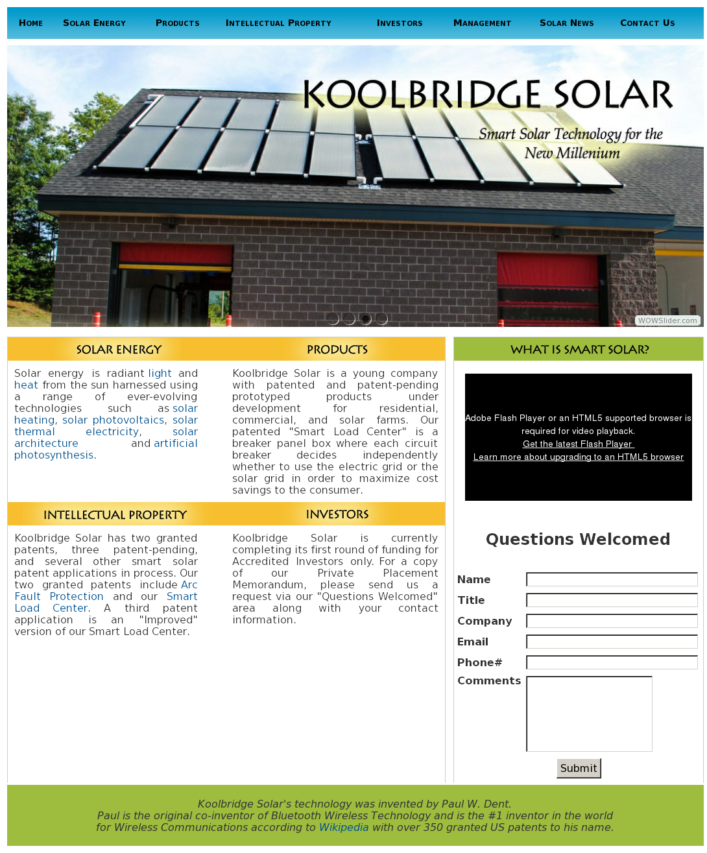Koolbridge Solar Competitors Revenue And Employees Owler Company Arcfault Circuit Interrupter Goo Wikipedia Profile