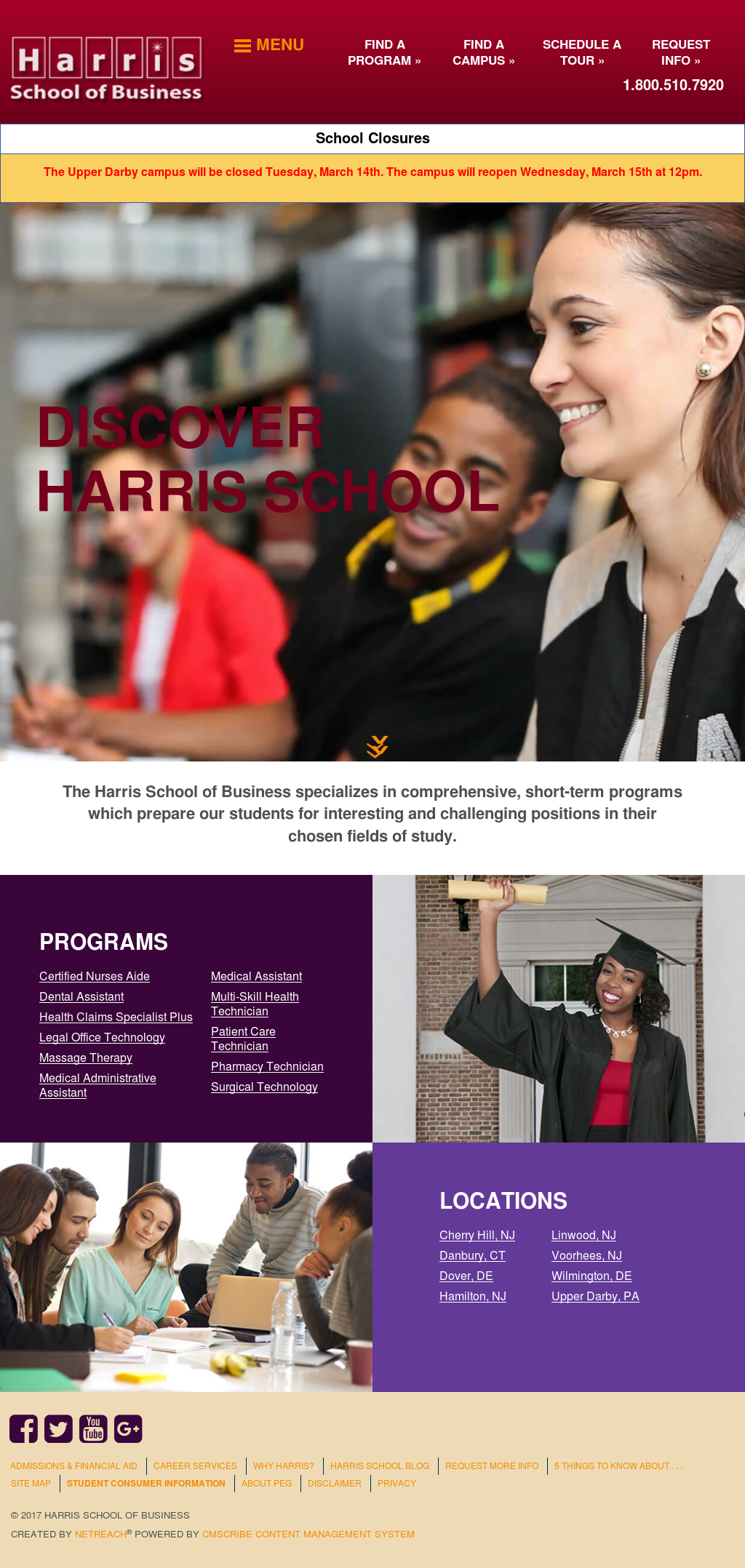 Harris School of Business Competitors, Revenue and Employees