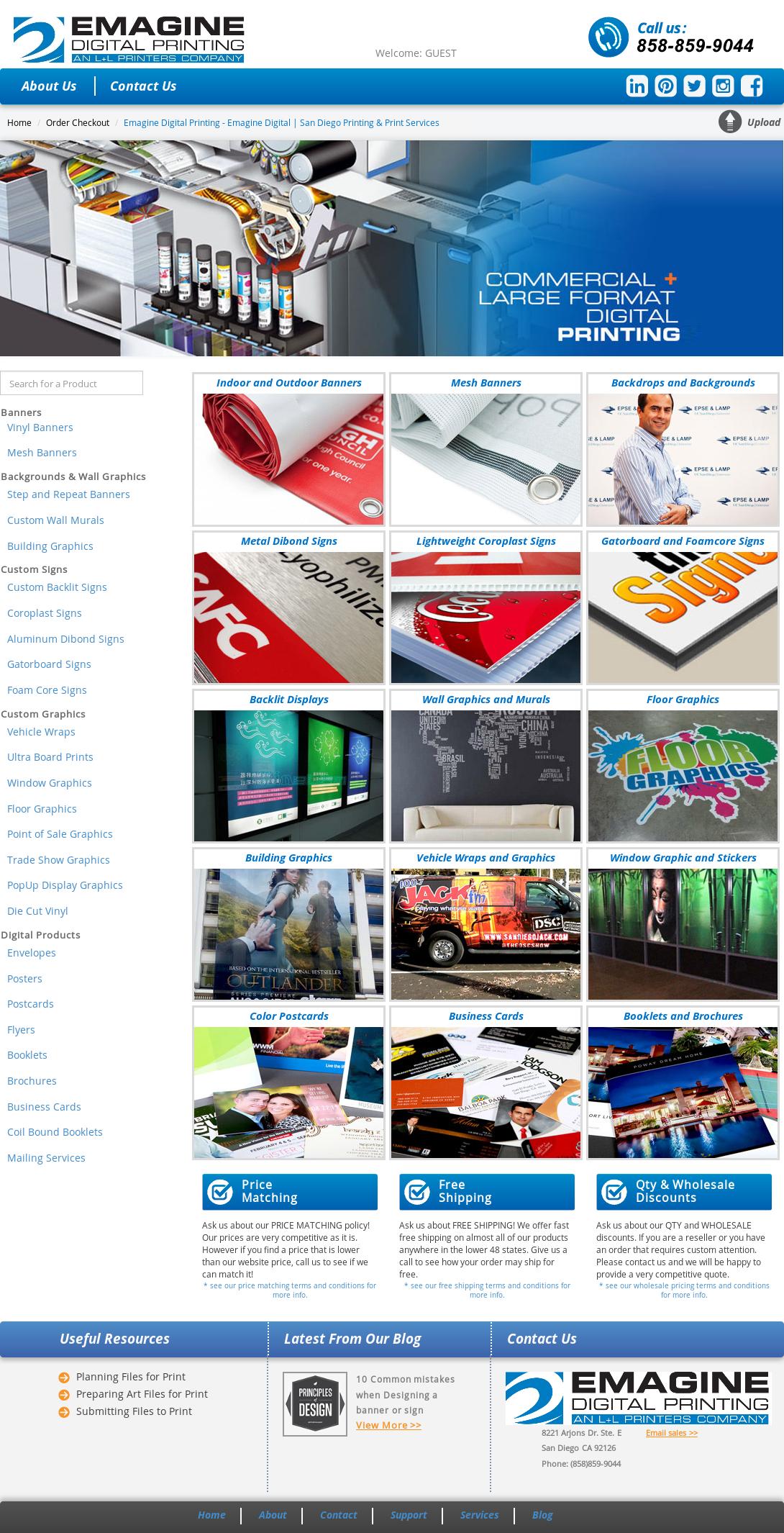 Emagine Website Design