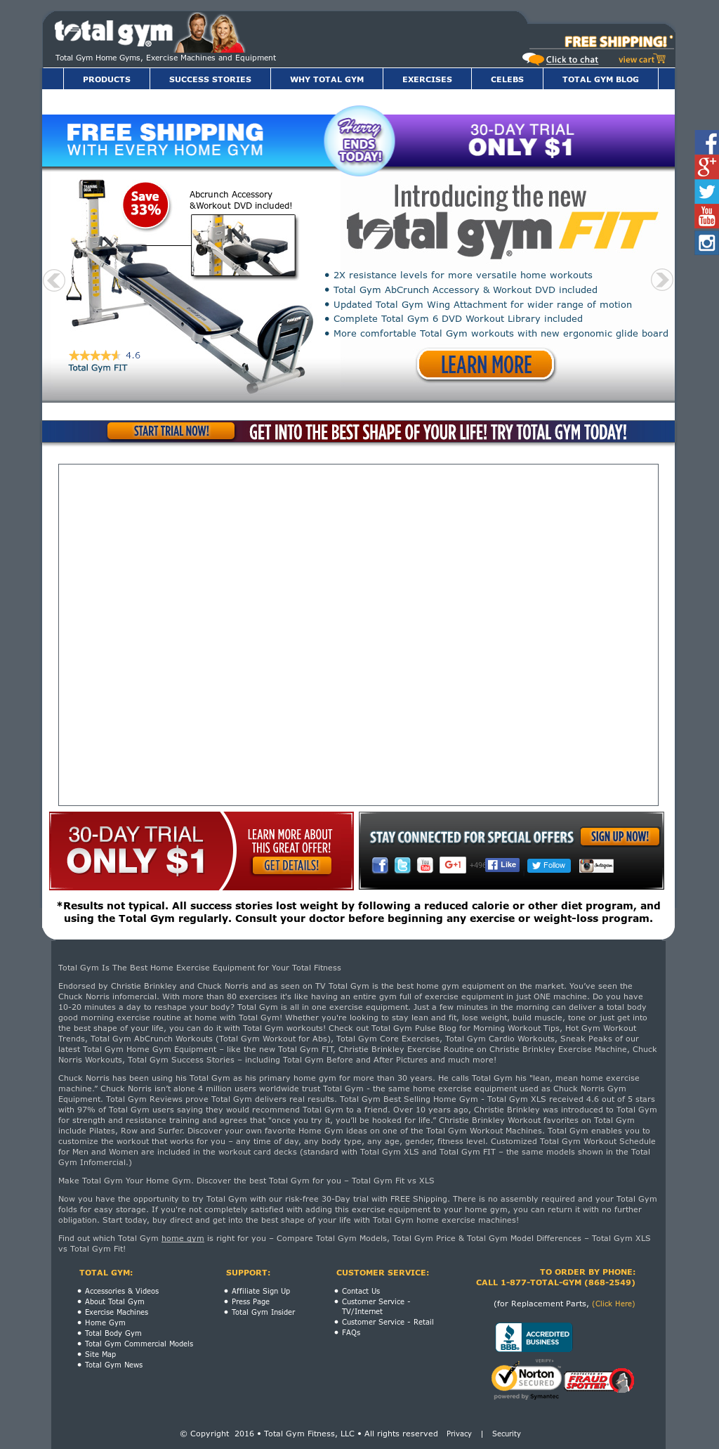 Total gym company profile owler for Gimnasio total