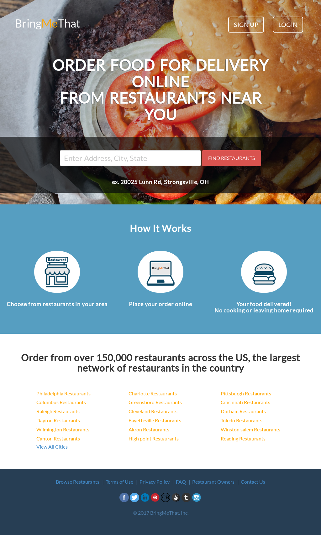 Food Delivery Silver Spring Md