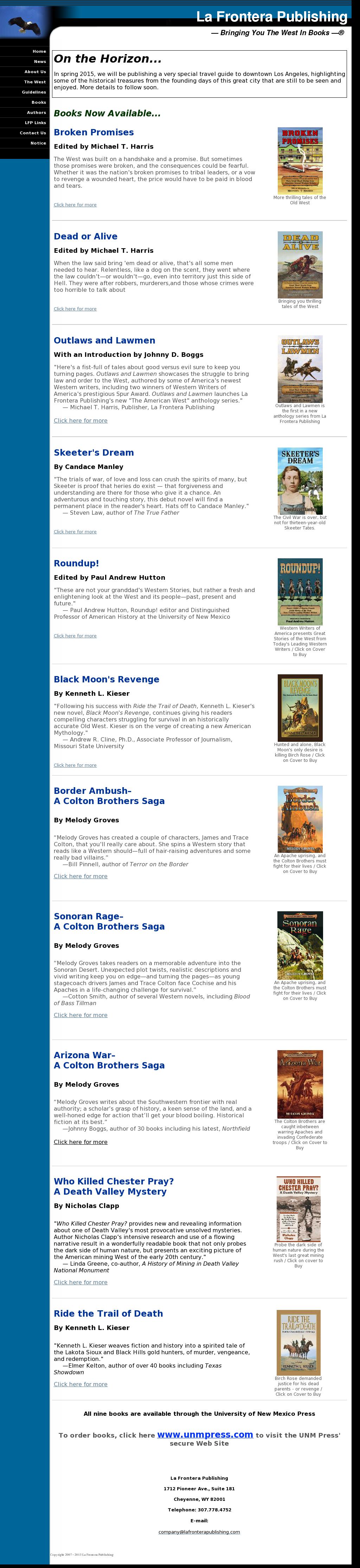 La Frontera Publishing Competitors, Revenue and Employees - Owler