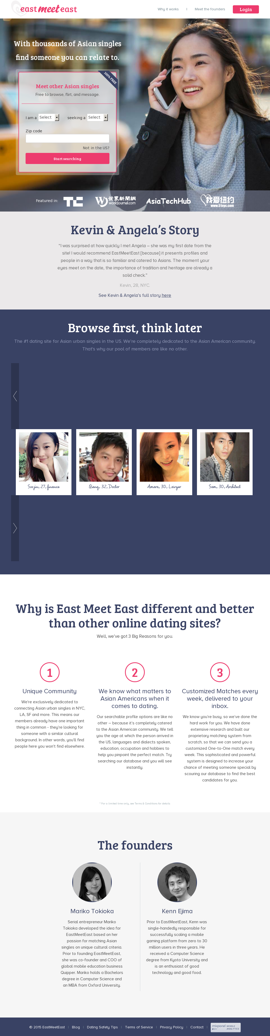 Since 2003, several free dating sites, operating on ad based-revenue rather..
