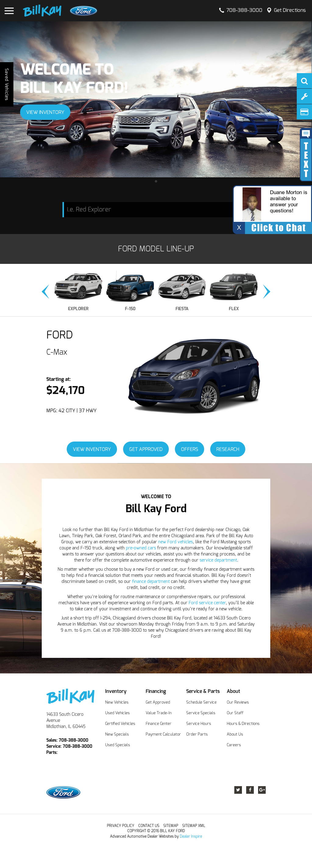 Bill Kay Ford >> Bill Kay Ford Competitors Revenue And Employees Owler