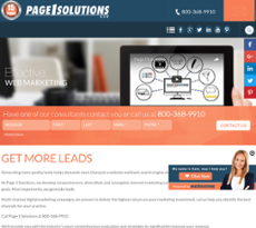 Page 1 Solutions website history