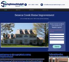 Seneca Creek Home Improvement website history