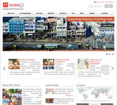 IPE Global website history