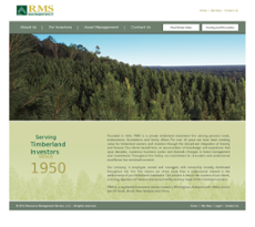 RMS website history