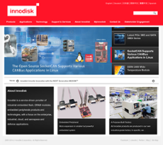 Innodisk website history