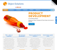 Object Solutions website history