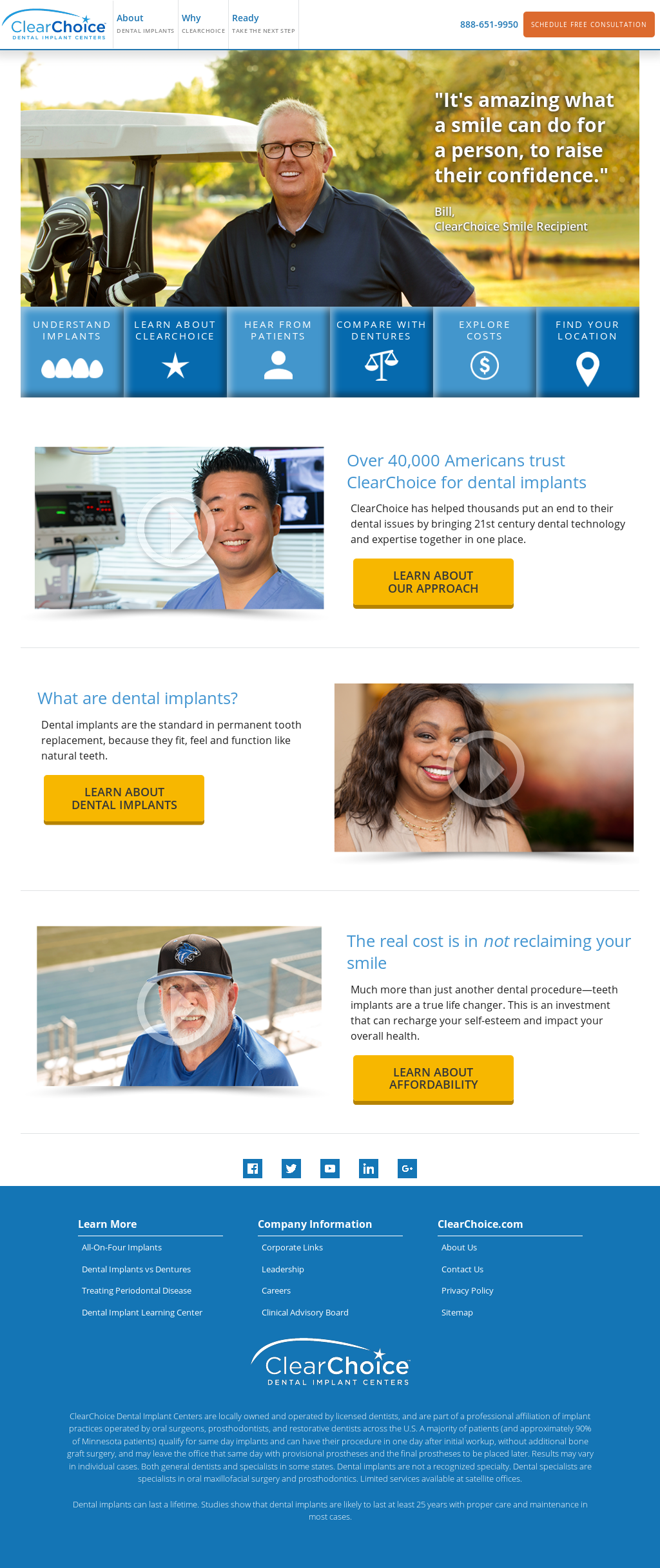 Owler Reports Press Release Clearchoice Clearchoice Dental