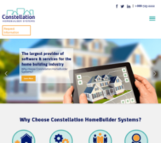 Constellation HomeBuilder Systems website history