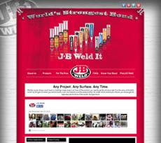 J-B Weld website history